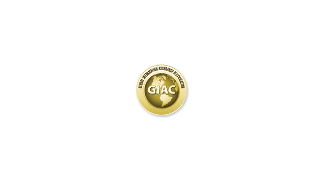Passed the GIAC GWAPT Exam – Russ Sanderlin